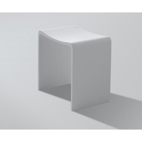 Wiesbaden Karin krukje Solid Surface - mat wit