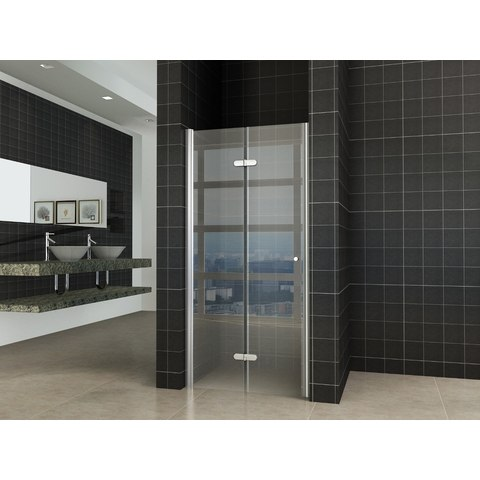 Wiesbaden Fold vouwbare douchedeur nis 90cm links