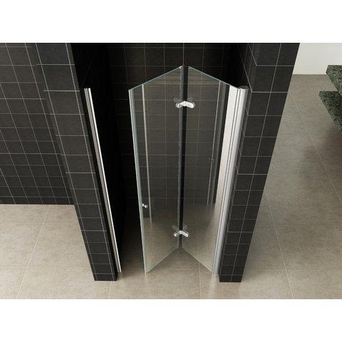 Wiesbaden Fold vouwbare douchedeur nis 100cm rechts