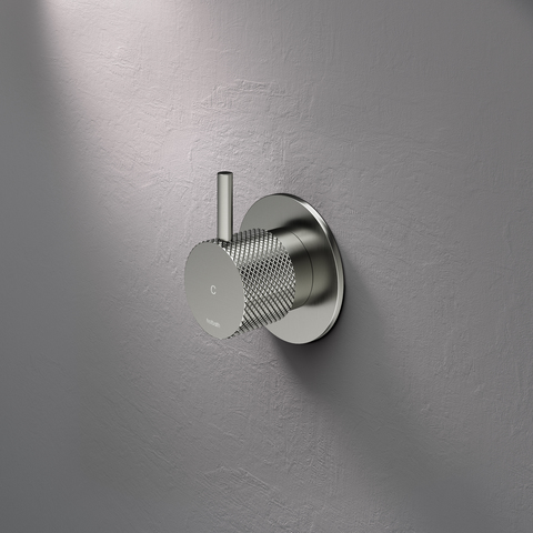 Hotbath Cobber X CX010C inbouw stopkraan koud chroom