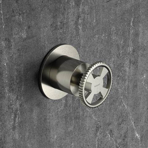 Hotbath Cobber @work CW011 inbouw 2-weg omstel mat zwart