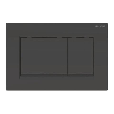 Geberit Sigma 30 bedieningsplaat glans zwart