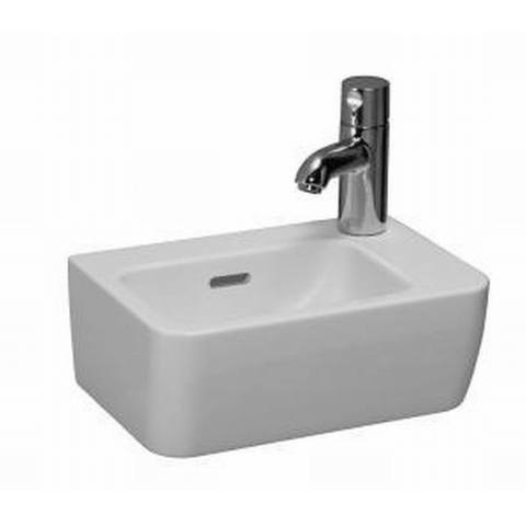 Laufen Pro a fontein 36x25 cm. kraangat rechts wit