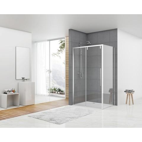 Van Rijn Products ST06350 douchecabine zij-instap 140x100cm helder glas chroom