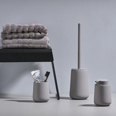 Zone Denmark Nova One toiletborstel - gull grijs