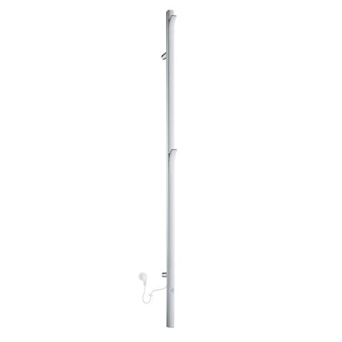 Smedbo Dry elektrische handdoekradiator 150cm FK715 RVS glanzend