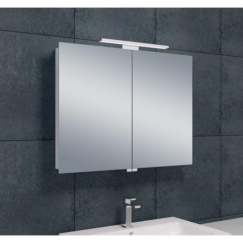 Wiesbaden Bright spiegelkast met LED verlichting 80x60