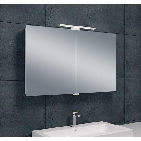 Wiesbaden Bright spiegelkast met LED verlichting 100x60