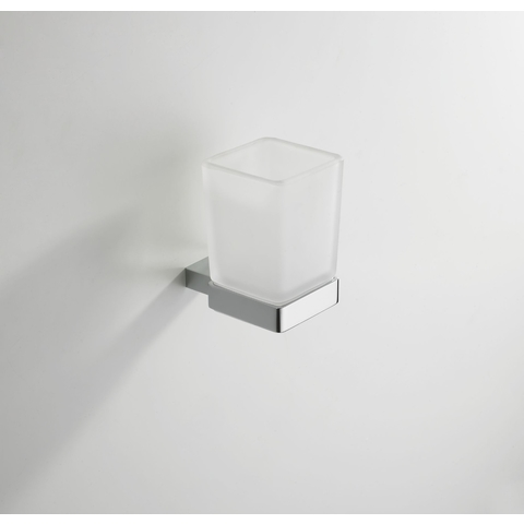 Wiesbaden Eris glashouder chroom met glas