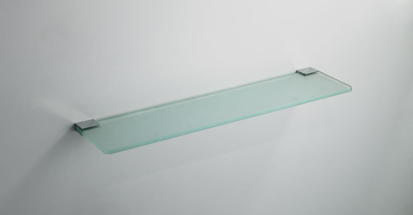 Wiesbaden Eris planchet glas met bevestiging chroom