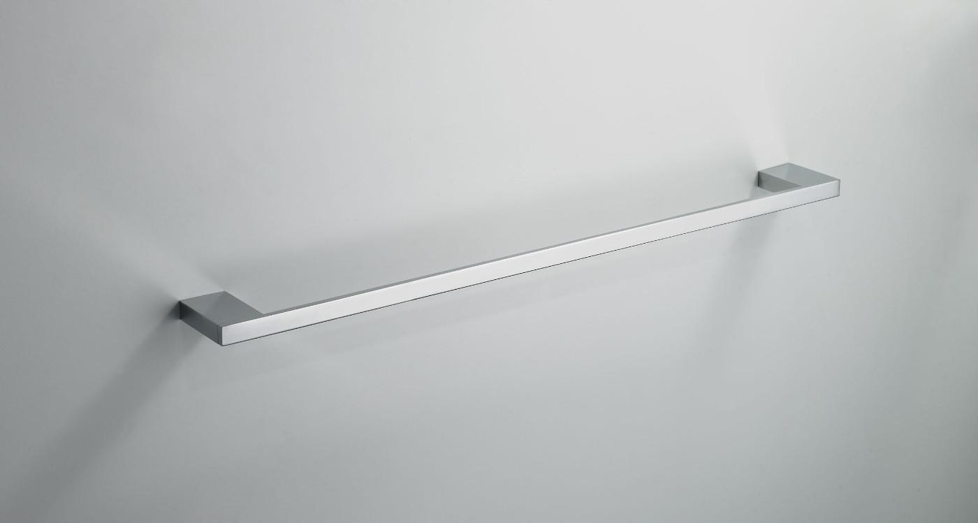 Wiesbaden Eris handdoekrek enkel 60cm chroom