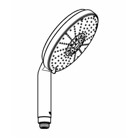 Grohe Rainshower Cosmopolitan handdouche 16 cm. chroom