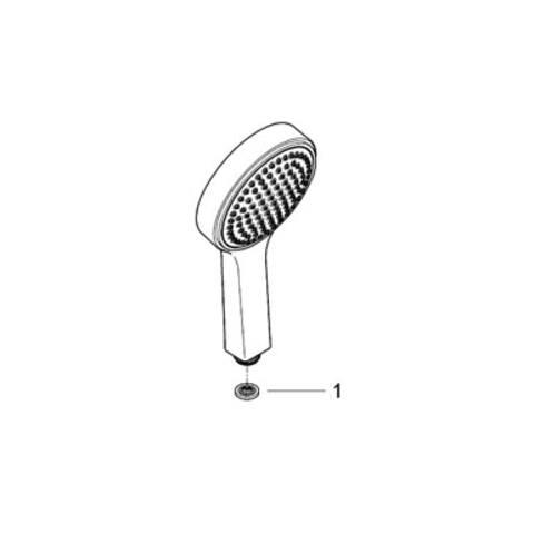 Grohe Power & Soul Cosmopolitan handdouche 130 mm. chroom