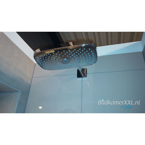 Hansgrohe Raindance Select E 300 2jet hoofddouche met wandarm chroom