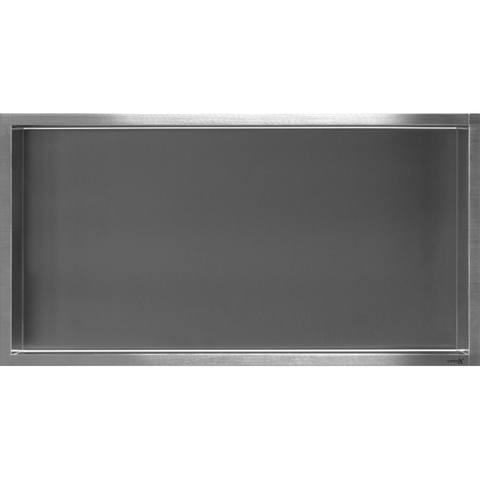Looox Box Inbouw Nis 60x30cm Geborsteld Rvs Box60