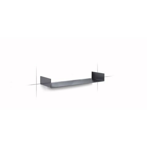 Looox Shelf inbouw planchet 60x10cm antraciet