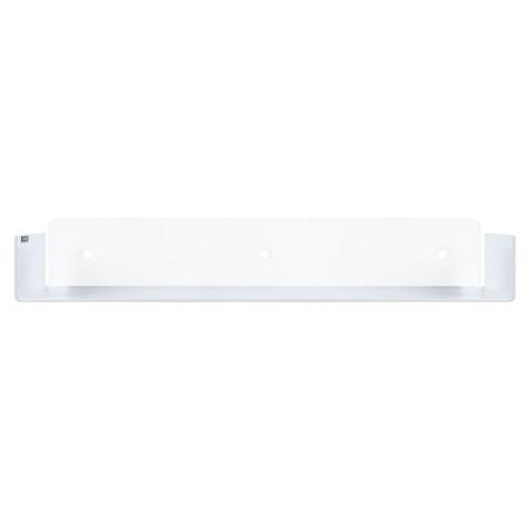 Looox Colour Shelf inzet voor planchethouder plaatstaal. gemoffeld (lxd) 600x100mm dikte 2mm