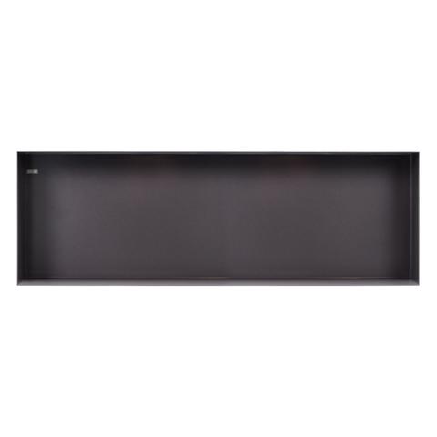 Looox Colour Box in-opbouwnis 90x30cm - antraciet