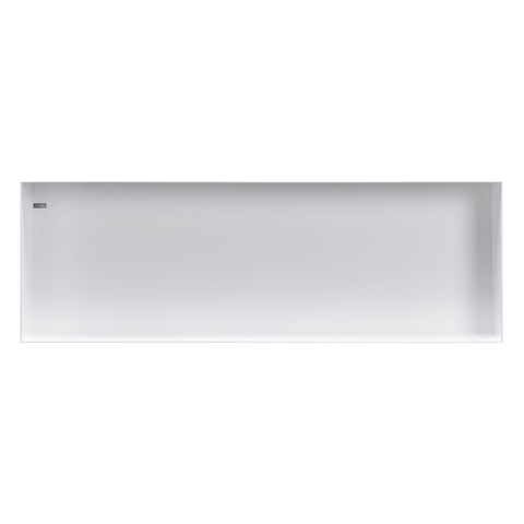 Looox Colour Box in-opbouwnis 90x30cm - wit