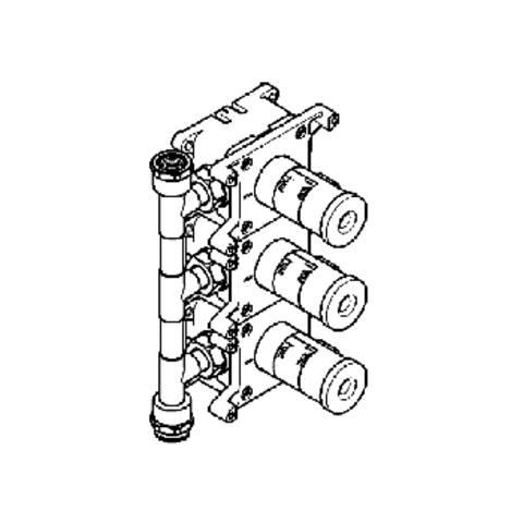 Grohe  basisgarnituur voor Grohtherm F 27625