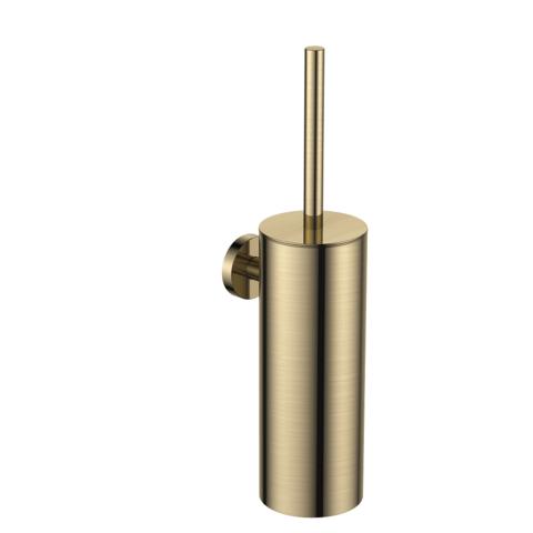 Regn toiletborstelgarnituur - geborsteld goud