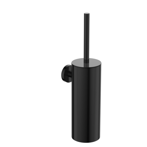 Regn toiletborstelgarnituur - gun metal black