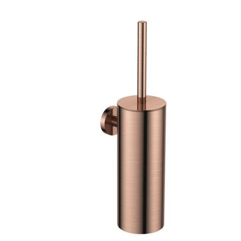 Regn toiletborstelgarnituur - geborsteld rosé goud