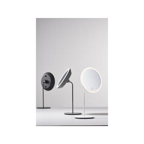 Zone Denmark spiegel - 5 x zoom/3 lichtstanden - zwart