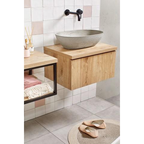 vtwonen baden badmeubel met opzetwastafel 120cm
