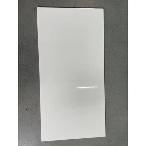 Kerabo wandtegel 33,3x100 - Glans wit - gerectificeerd