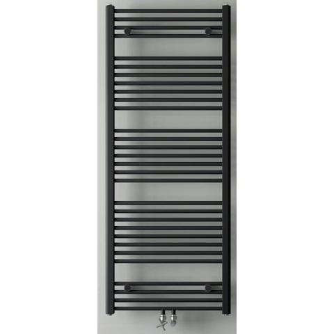 Instamat Base badkamerradiator 113 x 60 cm (H x L) mat zwart