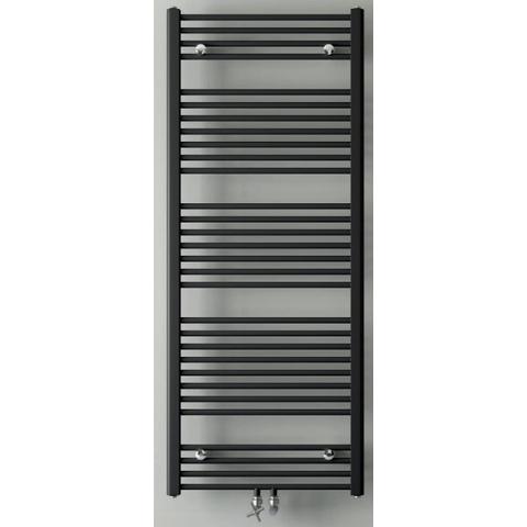 Instamat Base badkamerradiator 148 x 60 cm (H x L) mat zwart