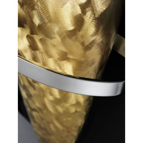 Instamat Blade H designradiator horizontaal 25 x 170 cm (H x L) geborsteld verguld
