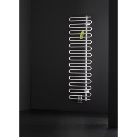 Instamat Cobra badkamerradiator 142.1 x 50 cm (H x L) collectorbuis rechts wit