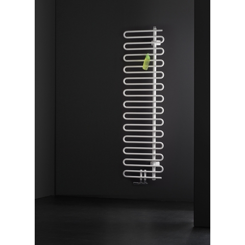 Instamat Cobra badkamerradiator 184.1 x 50 cm (H x L) collectorbuis rechts wit