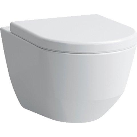 Laufen Pro hangtoilet Rimless - LCC - glans wit - met zitting SC & QR