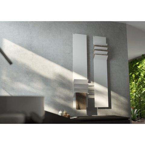 Instamat Flaps designradiator 201 x 35 cm (H x L) flaps boven wit