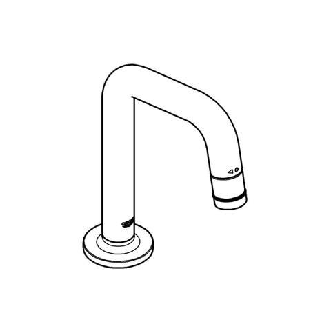 Grohe Universal fonteinkraan met u uitloop chroom