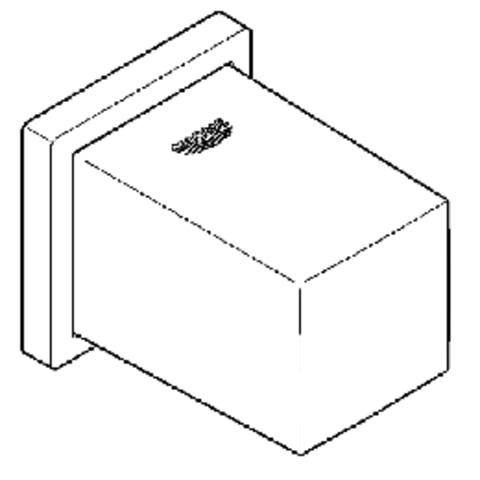 Grohe Euphoria cube wandaansluitbocht chroom