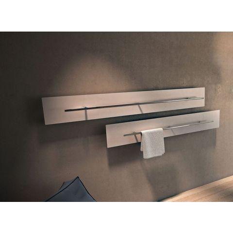 Instamat Teso H designradiator horizontaal 75,6 x 200cm (H x L) wit