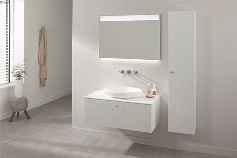 Thebalux Bigline LED spiegel - 130cm - spiegelverwarming