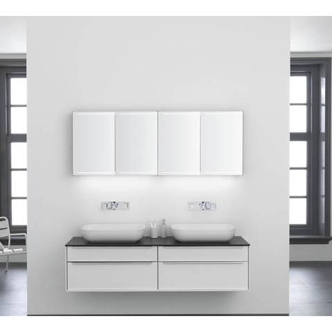 Thebalux Deluxe spiegelkast - 120x60cm - cape elm