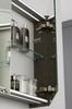 Thebalux Deluxe spiegelkast - 120x70cm - antraciet hoogglans