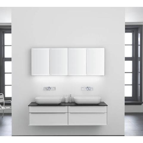 Thebalux Deluxe spiegelkast - 140x70cm - nebraska eiken