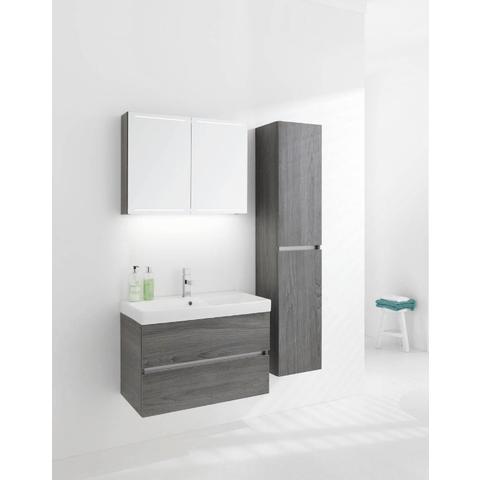 Thebalux Deluxe spiegelkast - 160x70cm - essen grijs