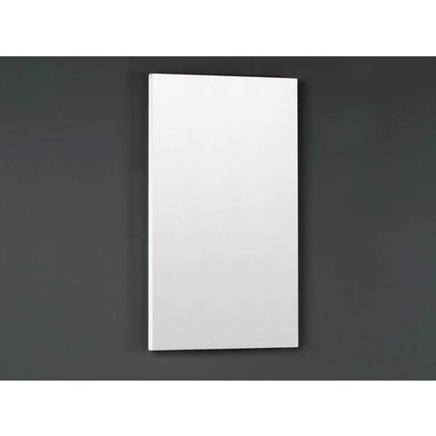 Thebalux Happy fonteinmeubel - links - cape elm - spiegel met LED lichtbaan