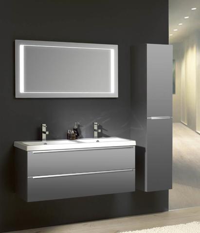 Thebalux LM LED spiegel 80cm met spiegelverwarming
