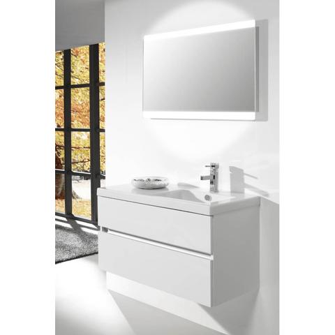 Thebalux Touch LED spiegel 130cm met spiegelverwarming