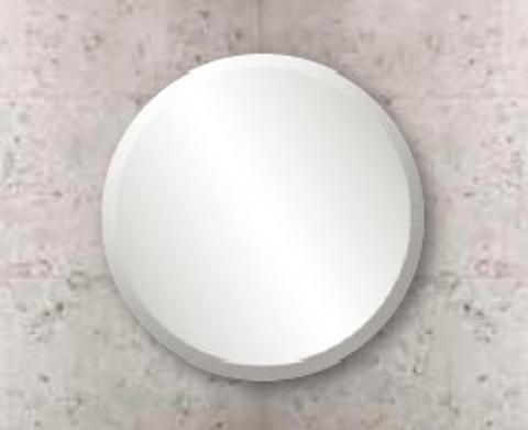 Blinq Facet spiegel rond 40cm.facetrand 25mm.met bevestiging