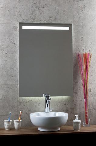 Blinq Nelid spiegel 90x80 balk boven led+sensor+verwarming